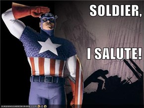 SOLDIER, I SALUTE!