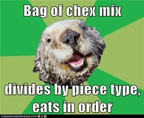 OCD Otter: There Aren't Equal Numbers!