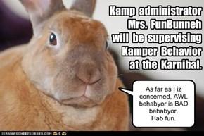 KK2012:  Kamper supervisor