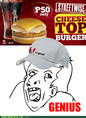 KFC's Assemble your own burger set