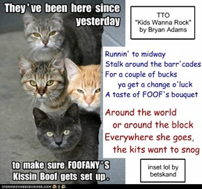 """Kits Wanna Snog"" (TTO ""Kids Wanna Rock"" by Bryan Adams)"
