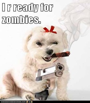 I r ready for zombies.