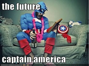 the future   captain america