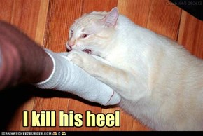 Whose heel?