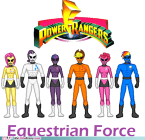 Equestrian Rangers, Saddle Up!