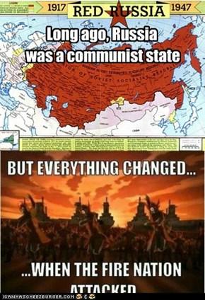 Long ago, Russia