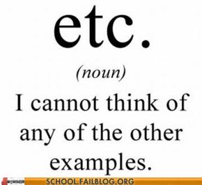 English 220: It Makes Me Sound Smart!