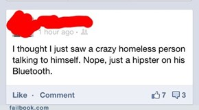 Still Not Sure If Hipster or Homeless