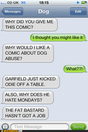 Because Let's Be Honest, Garfield Has Never Been Funny