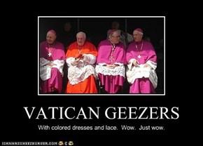 VATICAN GEEZERS