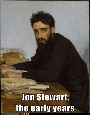 Jon Stewart,                the early years