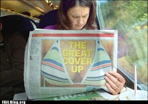 Reading the Newspaper FAIL