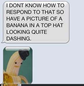 A Banana in a Top Hat Solves Everything