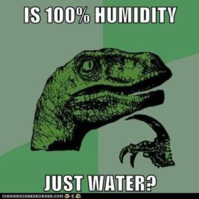 Philosoraptor: The Ocean Sure is Humid
