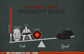 Set Phasers to LOL: Red Light Morality Scale