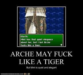 ARCHE MAY F**K LIKE A TIGER