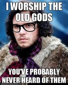 Hipster Jon Snow