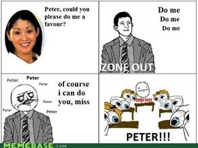 Pondering Peter