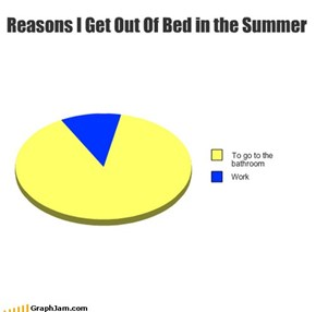 Reasons I Get Out Of Bed in the Summer