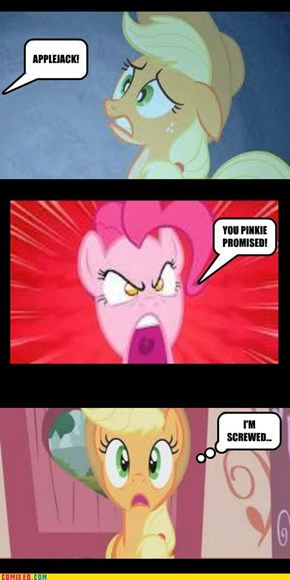 NEVER, break a pinkie promise