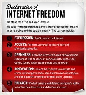 Cheezburger Supports the Declaration of Internet Freedom