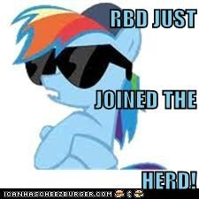 RBD JUST JOINED THE  HERD!