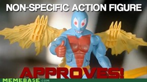 non-actionfigure aproves
