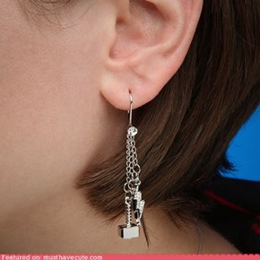 Thor Dangle Earrings