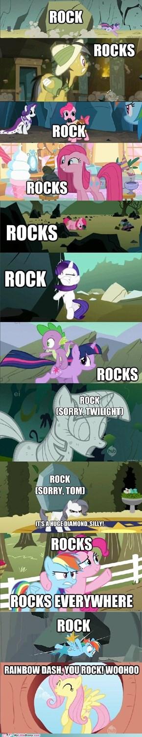 Rocks, rocks everywhere