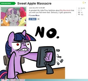 Everypony is not amuse