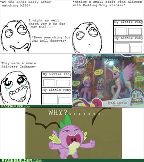 Hasbro, Y U Still Make Pink Celestia?