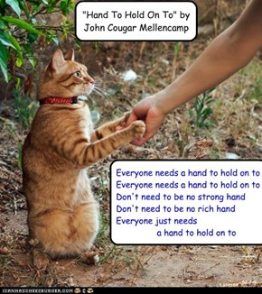 "For smudgie: ""Hand To Hold On To"" by John Cougar Mellencamp"