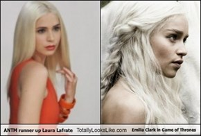 ANTM runner up Laura Lafrate Totally Looks Like Emilia Clark in Game of Thrones