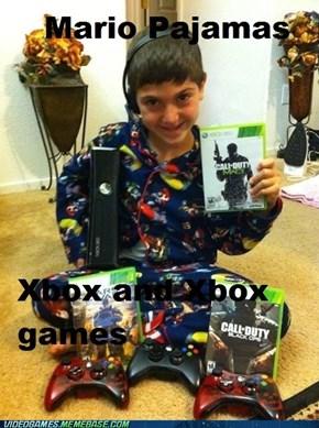 Mario or Xbox?