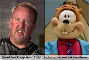 Darrell from Storage Wars Totally Looks Like Mr. Woodchuck from Full House