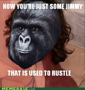 You didn't have to rustle my jimmies