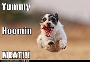 Yummy Hoomin MEAT!!!