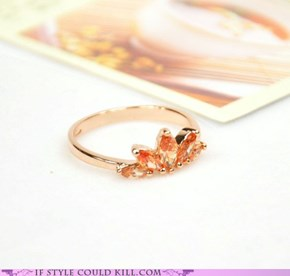 Ring of the Day: Half Bloom