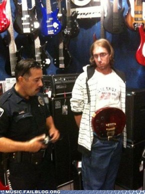 Shoplifting FAIL