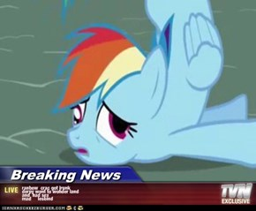 Breaking News - ranbow  crac got jrunk derpy went to wonder land and  had sex mad     lesbind