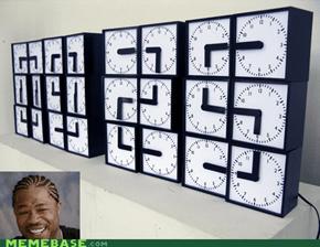 I heard you like clocks
