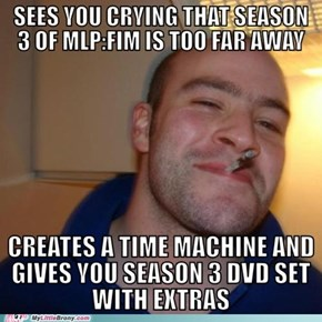 Good Guy Helps Out Crying Bronies