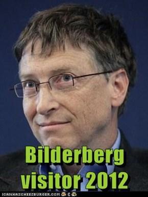 Bilderberg visitor 2012