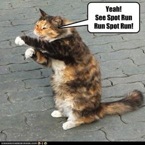 See Spot Run...Run Spot Run