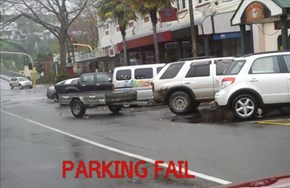 Parking Fail in New Zealand