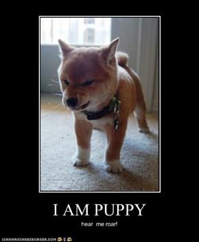 I AM PUPPY