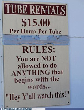 Them's the Rules!