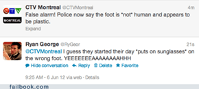 Montreal Does Not Appreciate Your Humor
