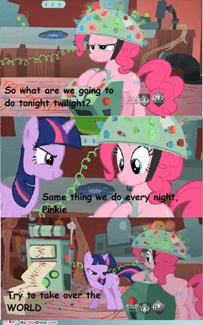 The pinkie and the twilight
