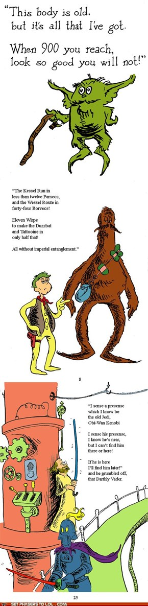 Doctor Seuss Star Wars